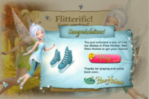 Winter woods crossing - pixie hollow prize