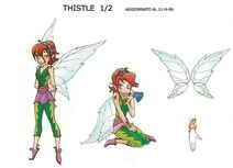 Thistle by Caterina Giorgetti, for the Disney Fairies graphic novels