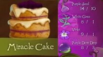 Tinkerbell adveture miracle cake