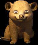 Bear thumb