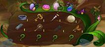 Tinkerbell adventure mystery items