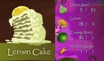 Tinkerbell adveture lemon cake