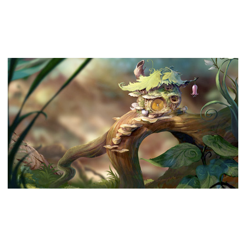 Tink's first home from 2008 film development, and used in games