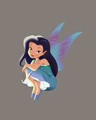 Silver-Disney fairy book