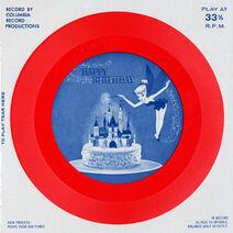 Happy birthday american telecard tinker bell - record artwork