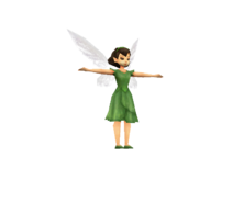 Tinkerbell DS - low polly model - chipper