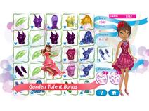 Pixie party couture - bonus garden
