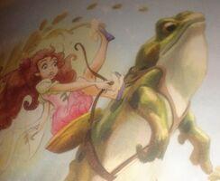 Rosetta Frog Riding