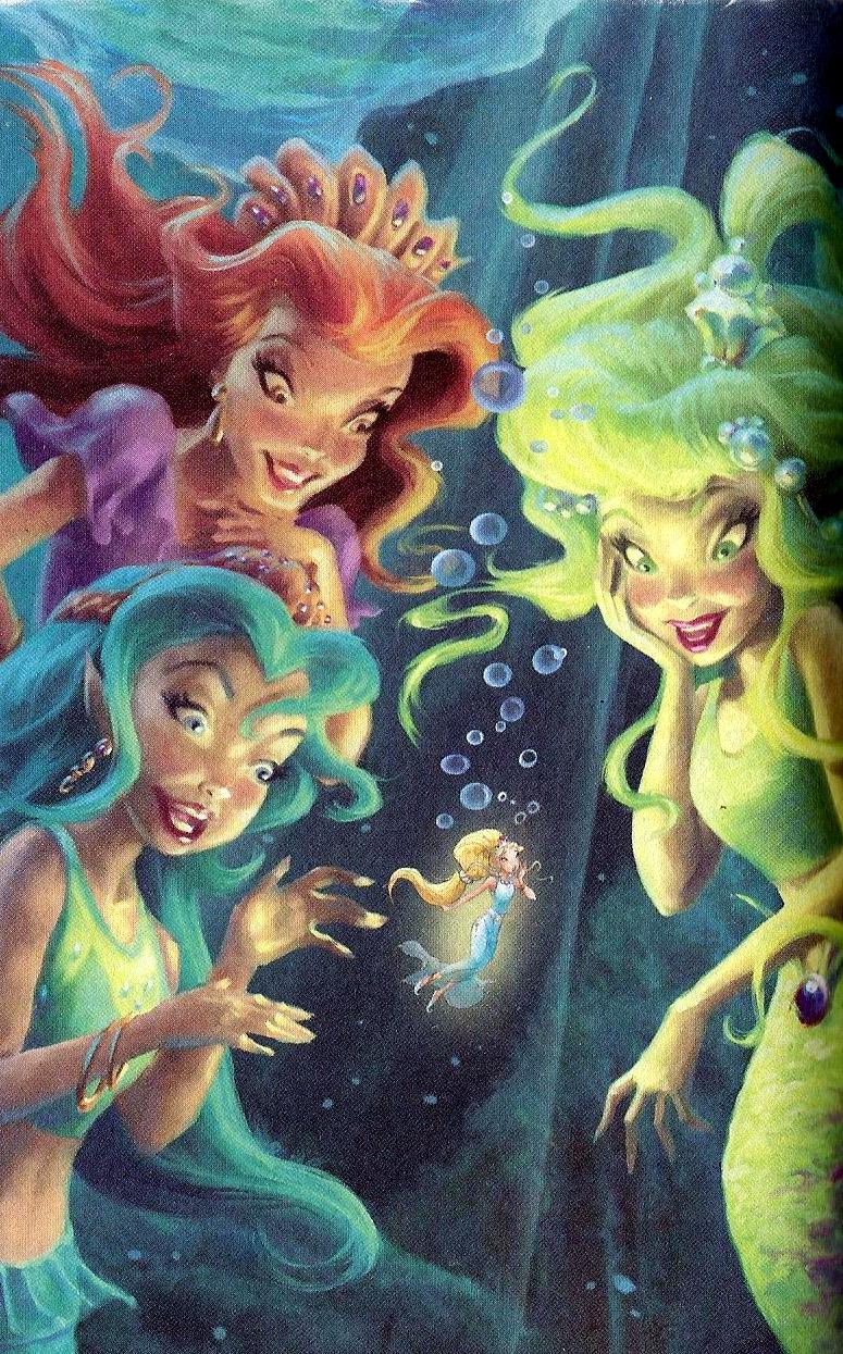Never Mermaids Disney Fairies Wiki Fandom Powered By Wikia