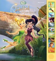 Tinker bell and the great fairy rescue play a sound