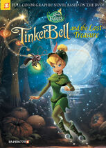 Tinkerbell and the lost treasure graphic novel