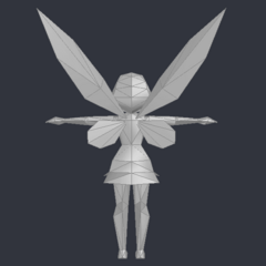 Low Poly Model from Tinker Bell (DS Game)