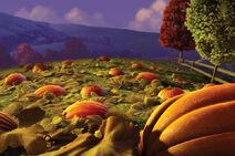 Bg with pumpkins