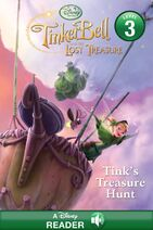 Tinkerbell and the lost treasure book - variant cover