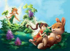 Fairies-bunny