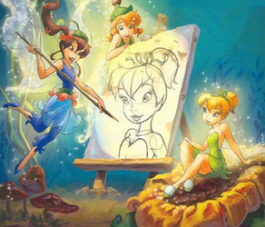 Bess drawing tink