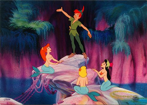 PeterPanMermaidLagoon19 Peter Pan In Mermaid Lagoon