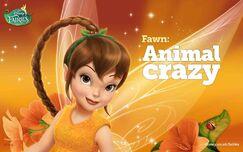 Disney Fairies Fawn Animal crazy