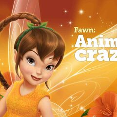 Disney Fairies: Fawn Animal crazy.