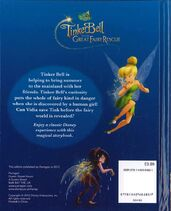 Tinker bell and the great fairy rescue - back