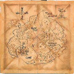 A map of Never Land