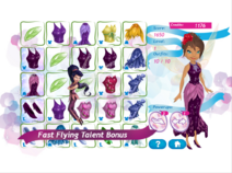 Pixie party couture - bonus fast flying