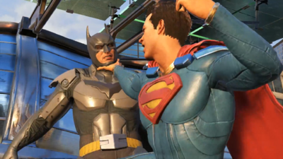 See Batman and Superman Battle in Newest 'Injustice 2' Trailer