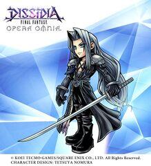 Sephiroth DFFOO Artwork