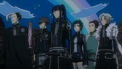 Black Order Members and Lero