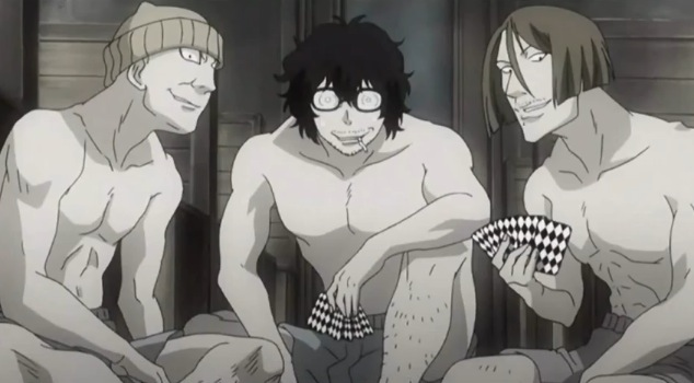 Tyki In Disguise Playing Cards With His Friends Against Allen
