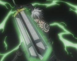 Allen Walker - Sword of Exorcism