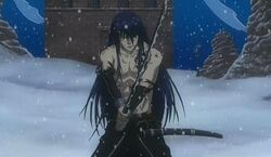 Kanda - battle damaged