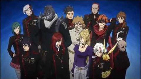 D Gray Man HALLOW Opening Official