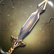 Battleworn Crystal Longsword