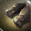 Battleworn Iron Vambraces