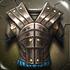 Battleworn Iron Cuirass Male