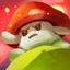Mushroom fire