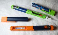 Novo refillable insulin pens