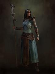 D4 Sorceress concept art