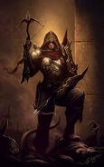 Demon hunter diablo fan art by deligaris-d4p8nmc