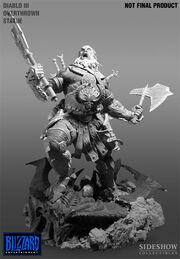 Barbarian Statue