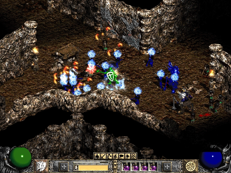 how to build ice sorceress in diablo 2