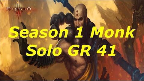 Diablo 3 Season 1 Solo Monk GR 41!