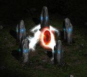 Monolithe aktiviert
