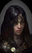 D4 Sorceress portrait
