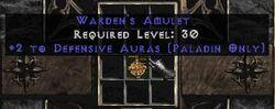 Wardens Amulet