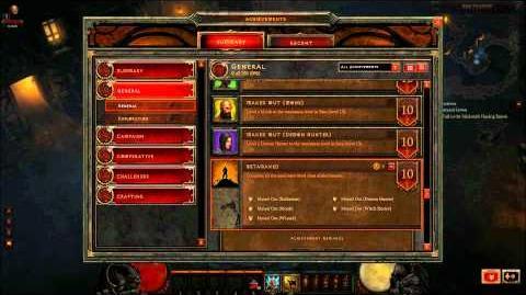 Diablo 3 Patch 6 Achievements