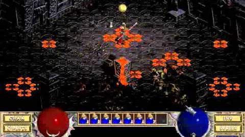Diablo 1 Hellfire spells Warp (by Blessed)