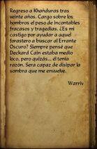 Warriv's Journal
