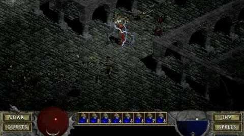 Diablo 1 spells - Lightning (by Decimius)